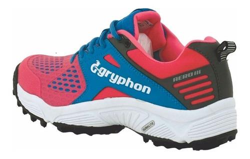 tartaneras botines de hockey gryphon aero g3 zapatillas rosa