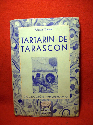tartarín de tarascón alfonso daudet traduc josé alvarez 1940