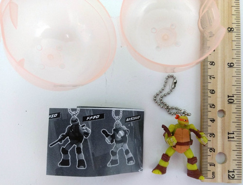 tartarugas ninja capsule figure mascot michelangelo