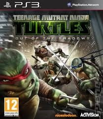 tartarugas ninja   (out of the shadows)  digital ps3