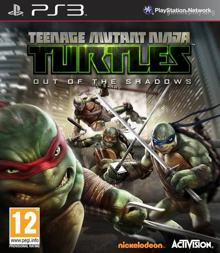 tartarugas ninjas + brinde ps3 psn - midia digital