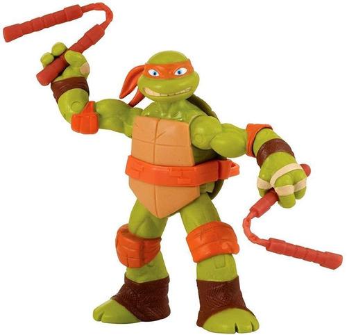 Tartarugas Ninjas Do Desenho Animado Michelangelo R 99 90 Em