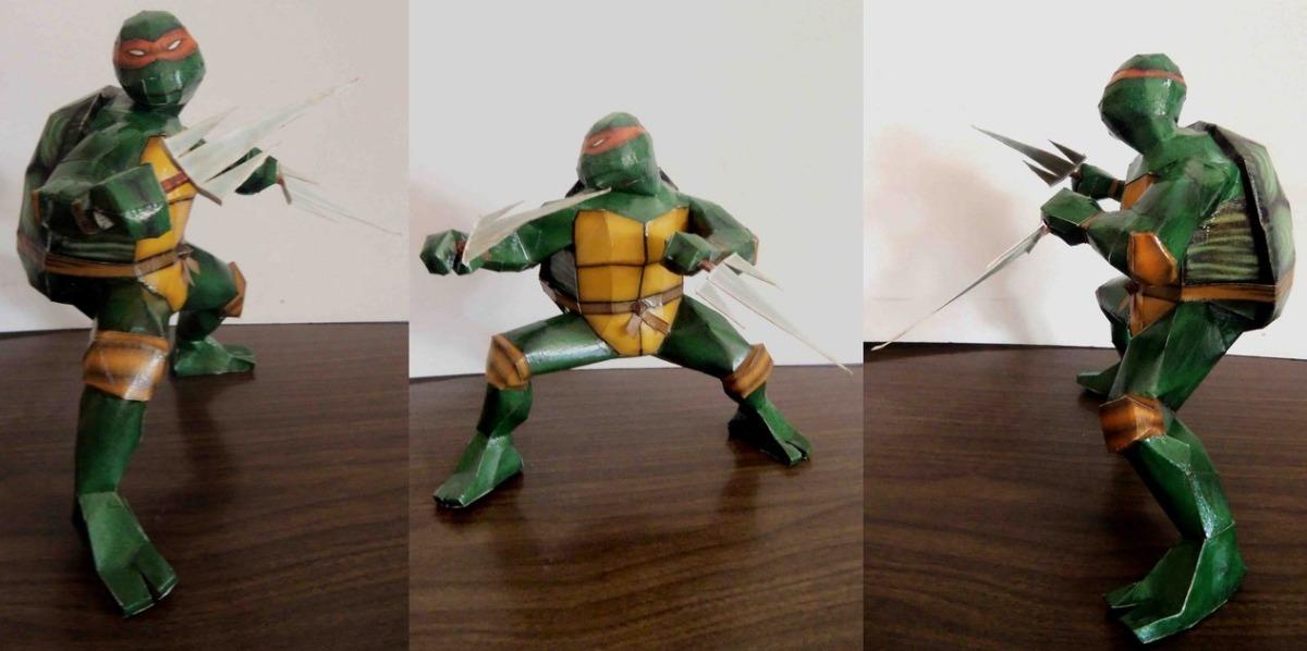 Tartarugas Ninjas Projeto Digital Para Imprimir R 19 99 Em