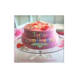 tartas de cumpleaños. editorial parragón