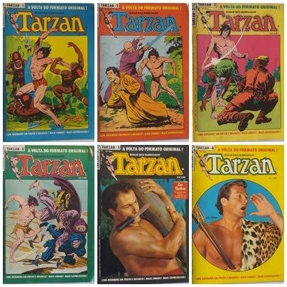 tarzan 1984 ebal coleção de gibi com 30 hq´s antigo raros