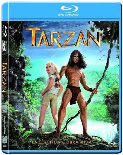 tarzan 2014 pelicula en blu-ray + dvd