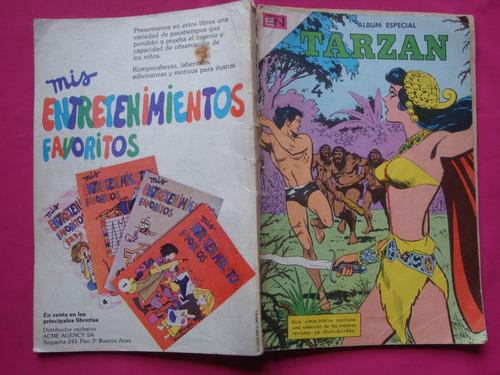 tarzan album especial n° 4 - editorial novaro