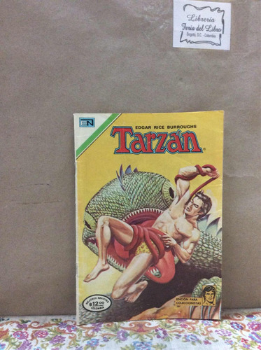 tarzán año x no 163/163 cómic antiguo