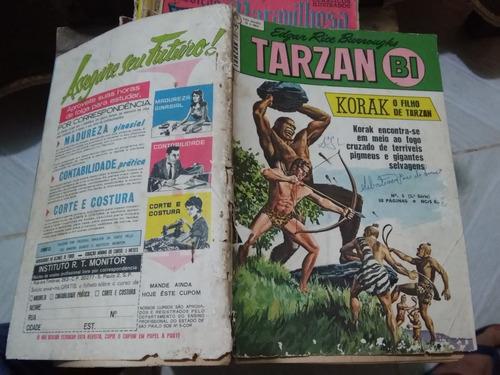 tarzan bi - korak o filho de tarzan n 5 1ª série- ebal-1968
