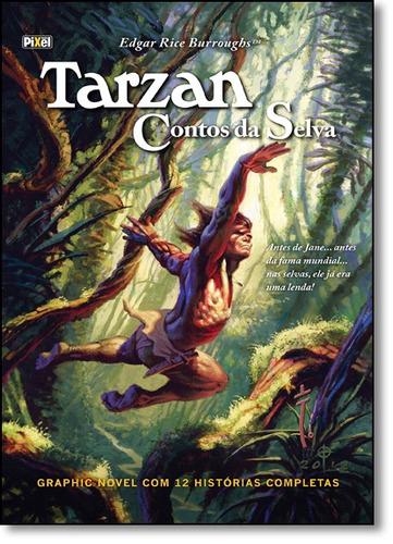 tarzan: contos da selva - capa dura