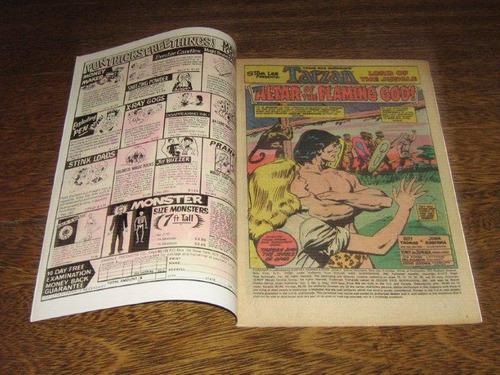 tarzan da marvel nº 3 agosto/1977 em inglês des john buscema