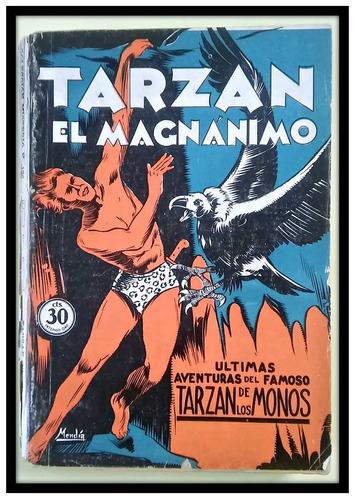 tarzan el magnánimo e. r. burroughs 1933