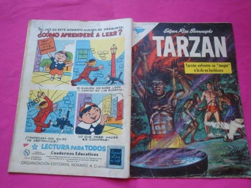 tarzan nº 123 año 1962 - editorial novaro sea