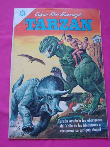 tarzan nº 164 año 1965 - editorial novaro
