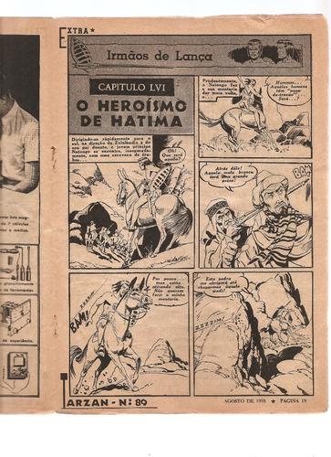 tarzan nº 89 de 1958 - m. bom