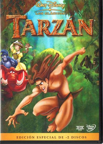 tarzán, película original en dvd