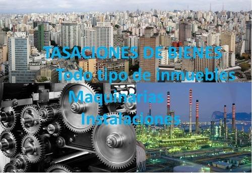 tasacion de inmuebles y maquinarias - pericias - on line