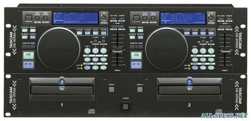 tascam cd-x1700 display denom mp3 dj