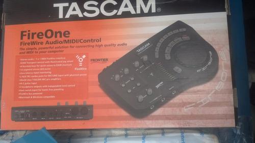 tascam fireone firewire audio interface