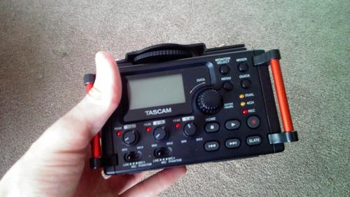 tascam gragadora para audio profesional