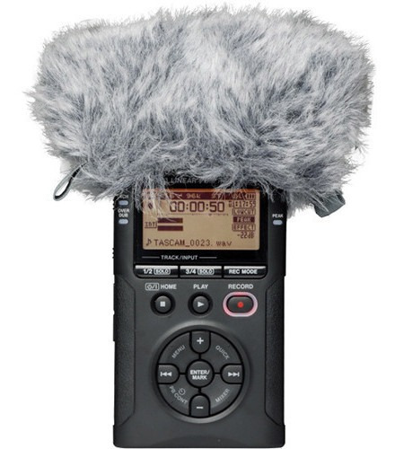 tascam ws-11 cortaviento para grabadoras tascam serie dr