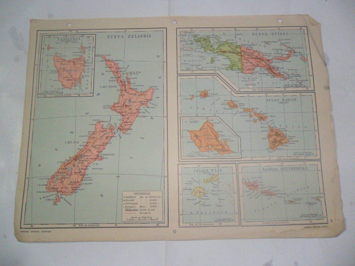 Tasmania fiji nueva zelandia hawaii plano mapa lamina 1969 3000 tasmania fiji nueva zelandia hawaii plano mapa lamina 1969 cargando zoom gumiabroncs Images