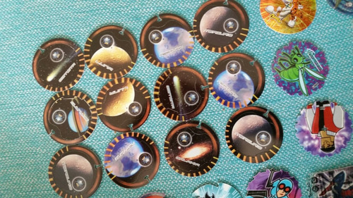 tasos tazos dinosaurios planetas simpson
