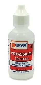 taste n' score potassium liquid 100% pure, natural potass