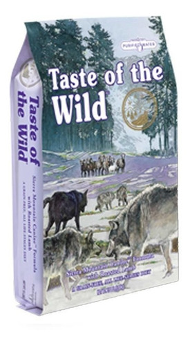 taste of de wild high sierra 14lbs cordero + env gra