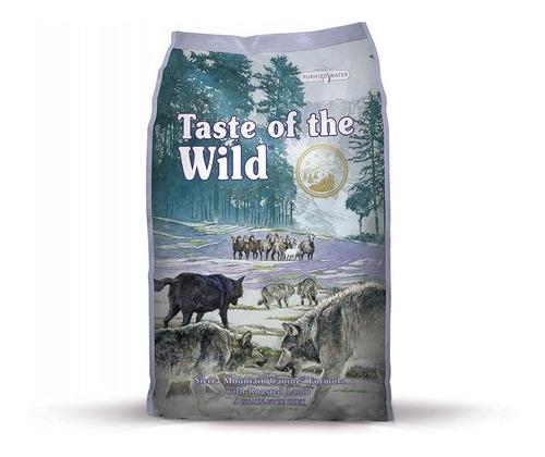 taste of de wild sierra mountain  5 lb perros adultos