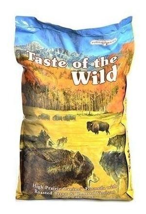 taste of the wild adult bisonte 28 lbs + env grat