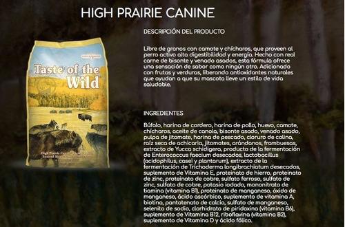 taste of the wild bisonte y venado as - kg a $21071