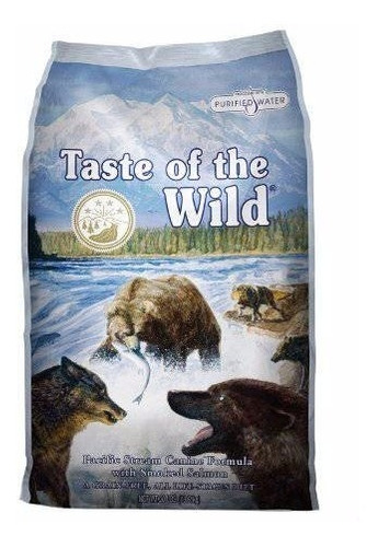 taste of the wild canine pacific stream adultos salmon 28lb