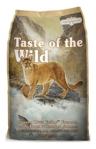 taste of the wild canyon river 5 libr - kg a $37500