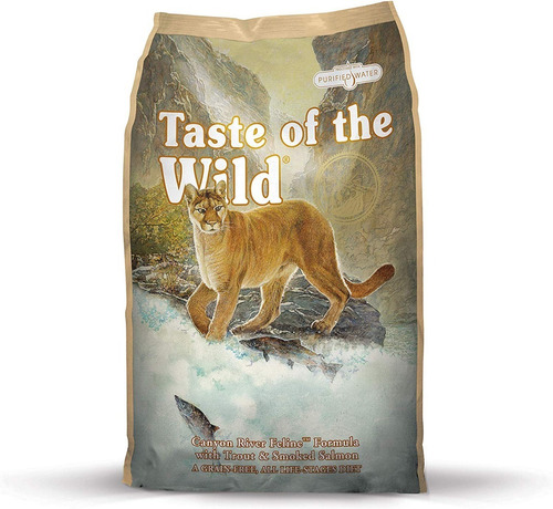 taste of the wild canyon river gatos - kg a $37350
