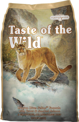taste of the wild feline trucha y salmón adulto 15lb