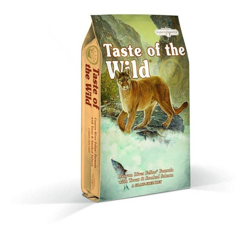 taste of the wild gatos canyon river trucha y salmon 14lb
