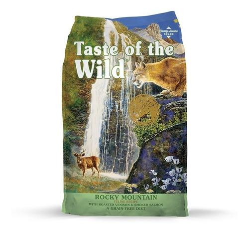 taste of the wild gatos rocky mountain salmon venado 14lb