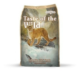 taste of the wild gatos x 5lb (canyon river)