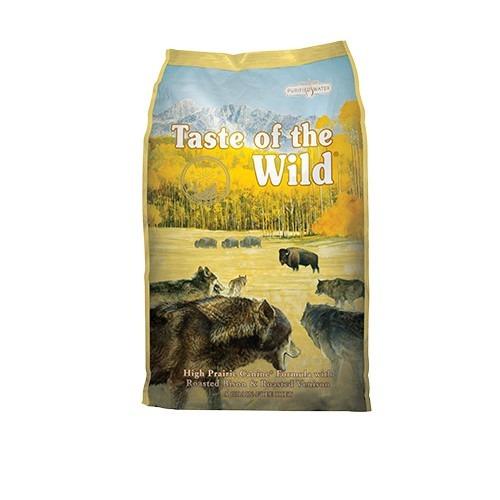 taste of the wild high praire puppy   bisonte y venado asado