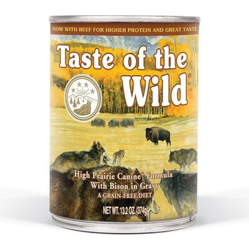 taste of the wild high prairie 12 latas 13.3oz