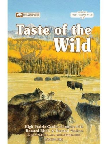 taste of the wild high prairie bisonte venado 14 lb