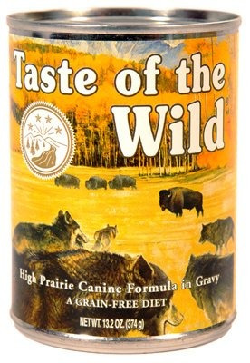 taste of the wild high prairie can funda para alimentos para