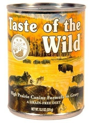 taste of the wild high prairie can funda para alimentos para