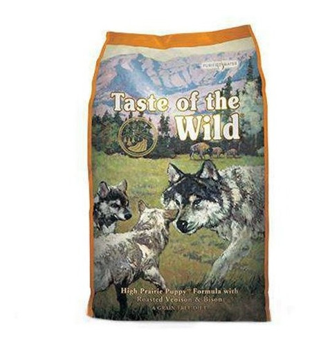 taste of the wild high prairie puppy 5 lb