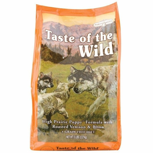 taste of the wild high prairie puppy bisonte venado 14lb