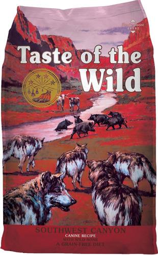taste of the wild jabalí cordero 28 lbs + env gra