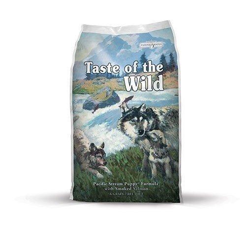 taste of the wild pacific stream puppy  cachorro salmon ahum