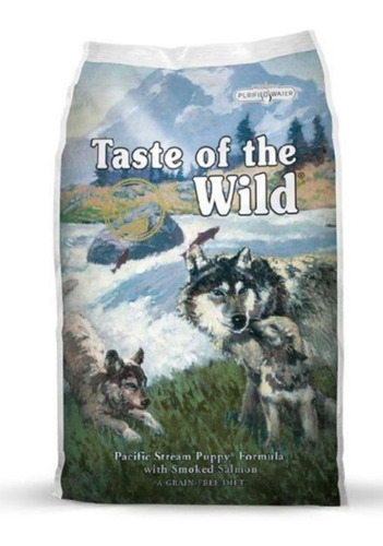 taste of the wild pacific stream puppy cuido cachorrosx15lb
