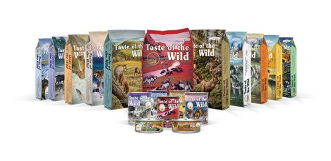 taste of the wild perros pacific stream 12 latas 13.3oz
